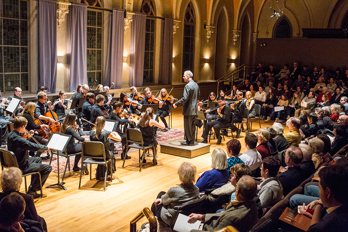 Performance opportunities and ensembles college of the for Chambre orchestra