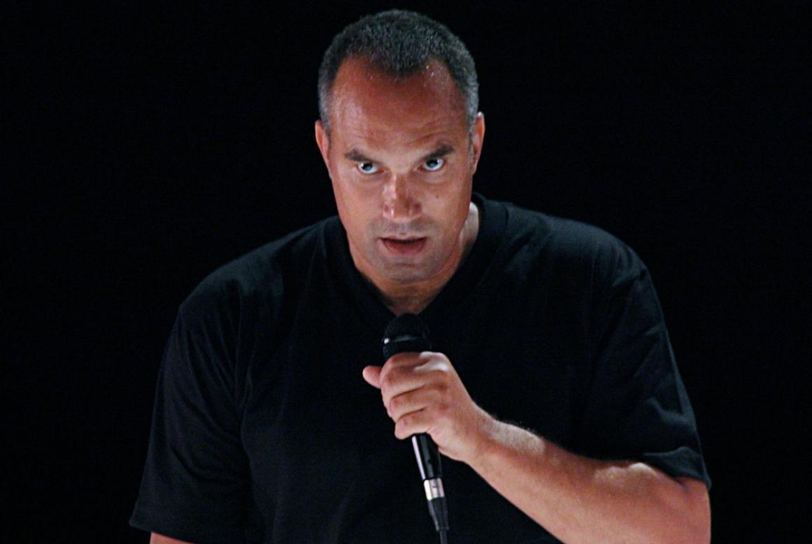 Stage And Screen Actor Roger Guenveur Smith At Holy Cross