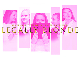 Legally blond poster