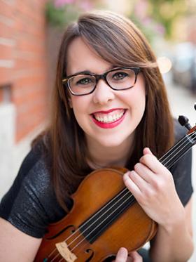 Gabby Diaz, violin