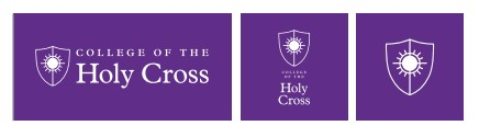 Holy Cross Logos - 1 Color Reversed