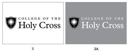 Holy Cross Logos Black and White