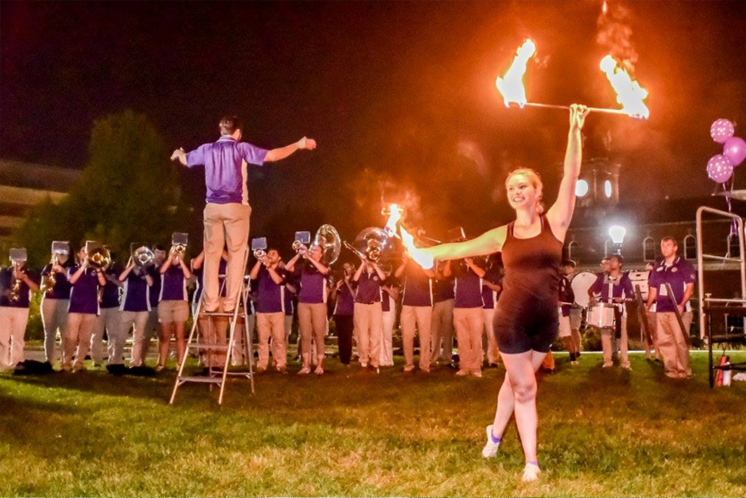 Dating a marching band guy