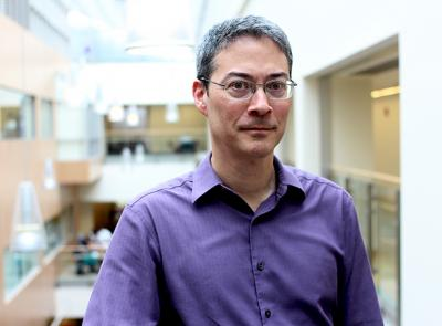 Associate Professor Andrew Hwang of the Mathematics and Computer Science Department.