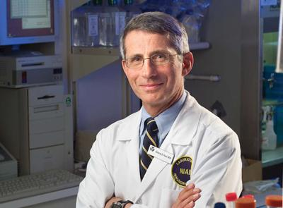 Anthony Fauci '62, director of the National Institute of Allergy and Infectious Diseases