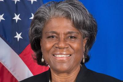 Ambassador Linda Thomas-Greenfield, Representative of the United States of America to the United Nations