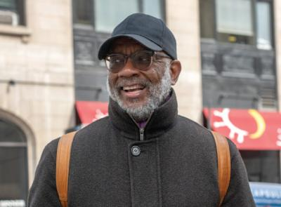 Ron Lawson '75 in New York City