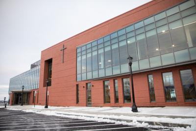 The Joanne Chouinard-Luth Recreation and Wellness Center. Photo by Avanell Chang