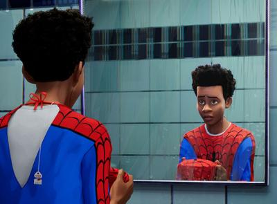 "A scene from ""Spider-Man: Into the Spider-Verse"""