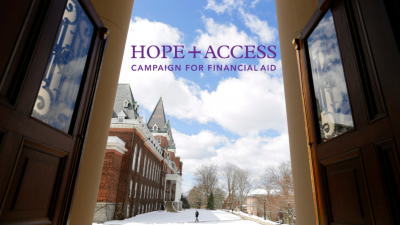 Hope + Access Campaign for Financial Aid