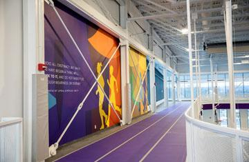 suspended jogging track in The Jo