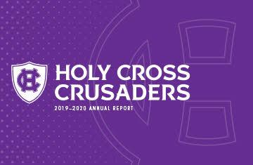 cover of holy cross crusader nation