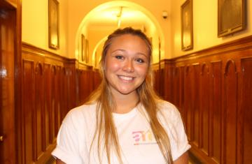 Image of Mickenzie Kamm at Holy Cross