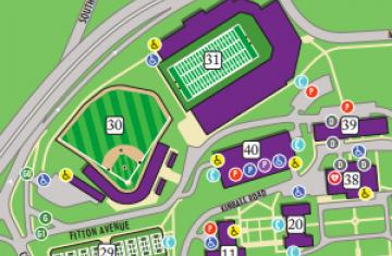 Maps Directions Transportation And Parking College Of The Holy Cross