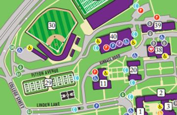 Holy Cross Campus Map Visitors | College of the Holy Cross