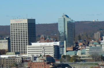 worcester skyline