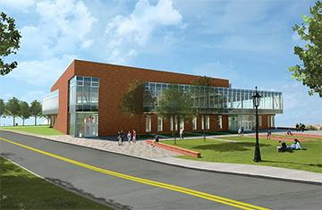 Wellness Center Rendering
