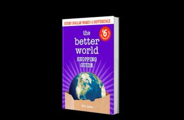 book cover: the better shopping world