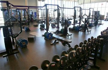 weights in performance center
