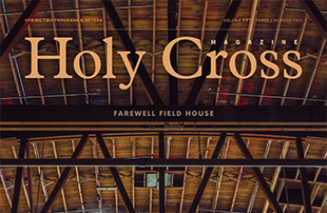 Holy Cross magazine cover