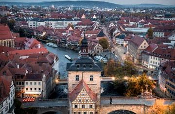 Enhance your German studies by studying abroad in Bamberg or Berlin.