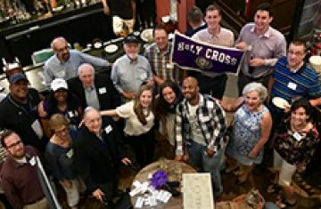Alumni Gathered at Crossroad Event
