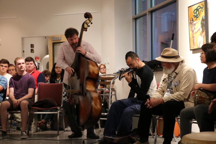 Silkroad Ensemble returns to Worcester PopUp for a jam session with community musicians
