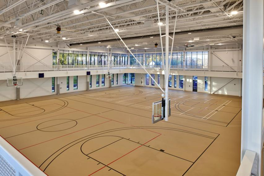 Basketball courts in The Jo