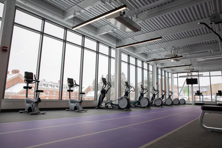 Exercise equipment in The Jo