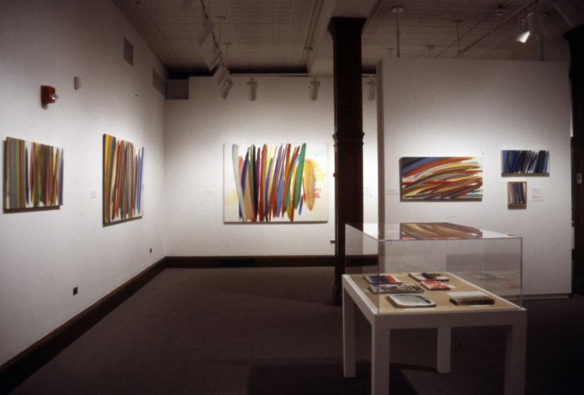 The Spiritual Landscapes of Adrienne Farb installation view
