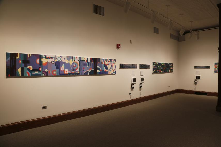 Gabrielle Thierry installation view