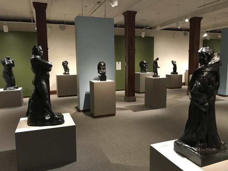 Rodin: Truth, Form, Life installation view