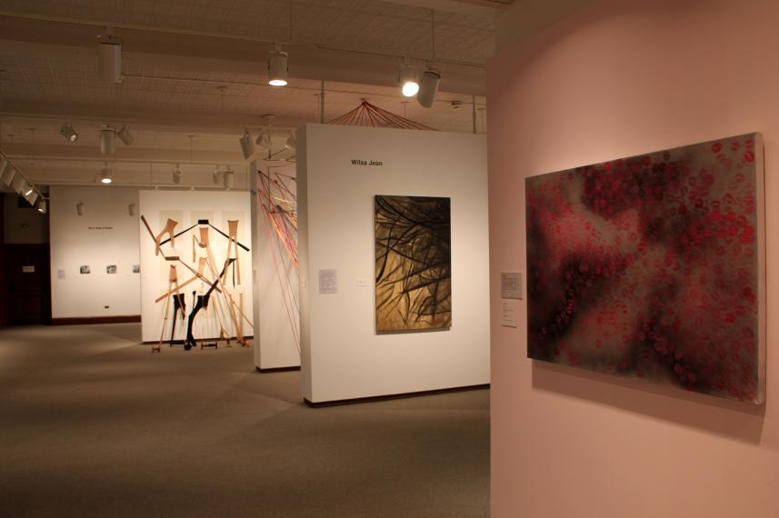Major installation view