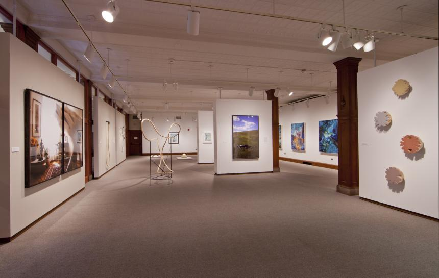 Viewpoint Faculty installation view