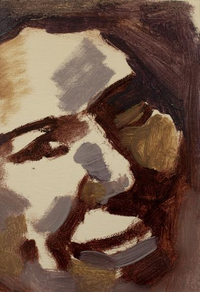 Detail of painting by Margaret Goddard