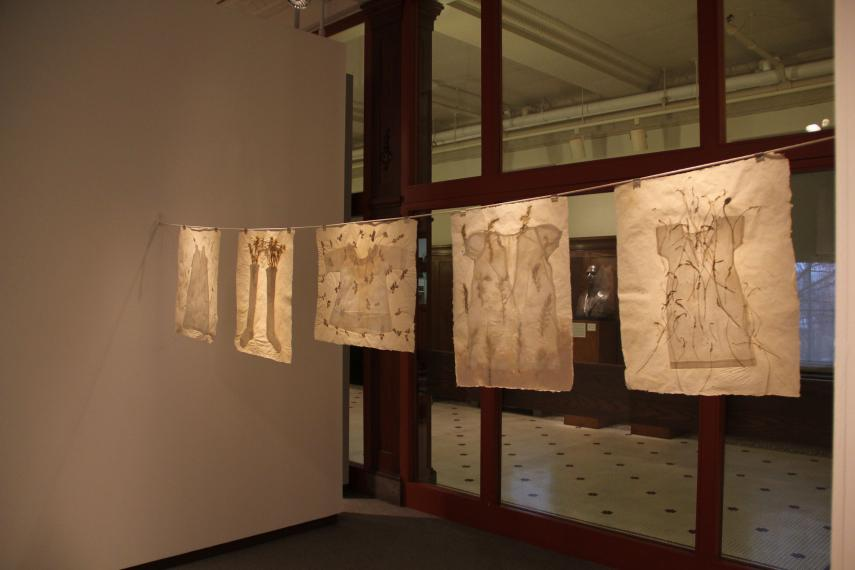 Spark: A Celebration of Alumnae Artists from Holy Cross installation view