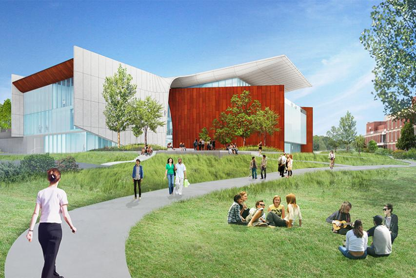 Artist Renderings: View from Figge Hall
